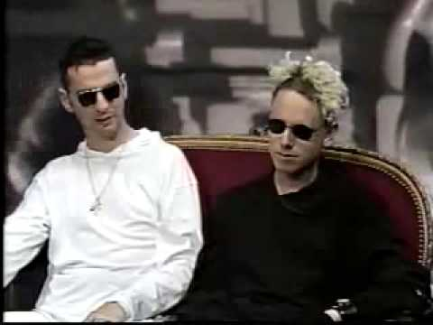 Depeche Mode - Martin and Dave MTV 120 Minutes Violator Interview
