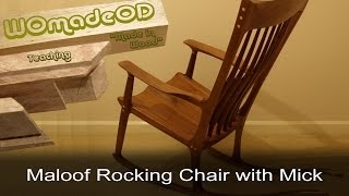 Maloof Rocker - With Rock
