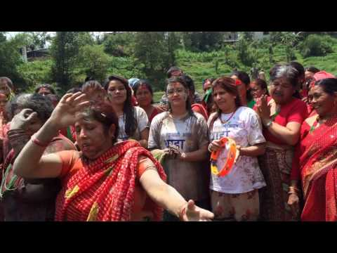 Live Dohori at Ropain Festival