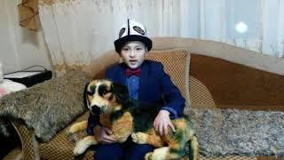 7-летний Алим уулу Албан али поздравил кыргызстанцев с новым годом
