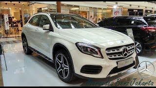 New Mercedes Benz GLA 200 AMG Line FL 2018 Indonesia   Exterior / Interior