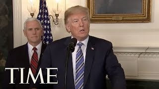 President Donald Trump Signs 'Ridiculous' Budget Bill Despite Veto Threats Over Immigration | TIME