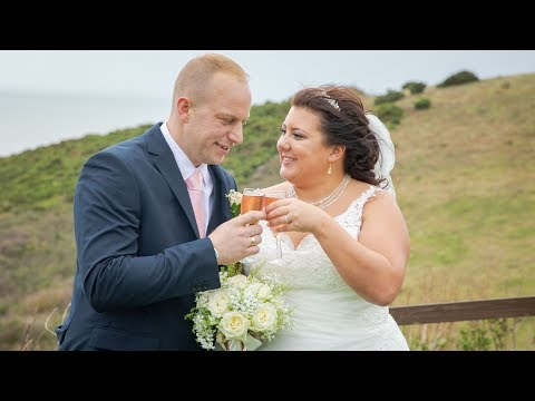 Alicia and Finley's Wedding Highlight - Ocean Kave North Devon