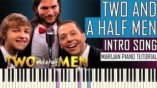 How To Play: Two And A Half Men - Intro Song | Piano Tutorial