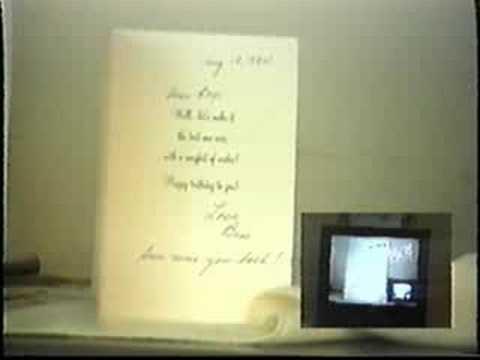 My New Video Room in Las Vegas - August, 1994!
