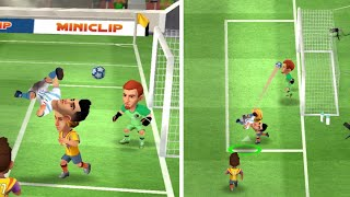 Mini Football match Italy derby 491 vs 570 with bicycle kick