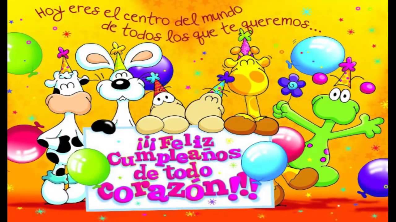 Feliz cumpleaños Los embajadores Vallenatos (con letra) YouTube