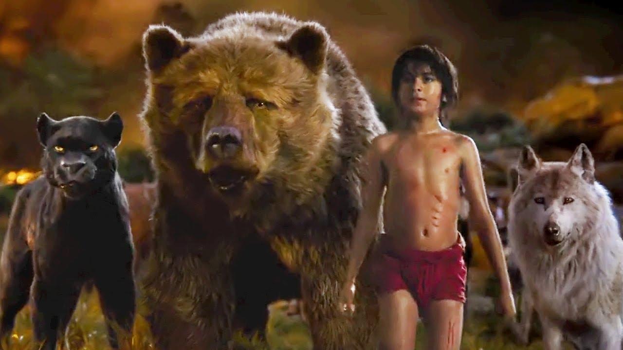 Download The Jungle Book 2016 - Best Scenes