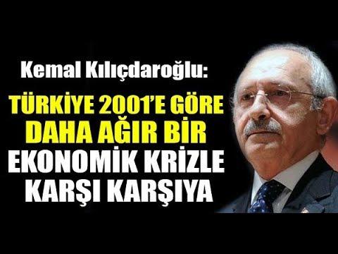 Kılıçdaroğlu'ndan çok ciddi uyarı: 2001 krizinden daha ağır...