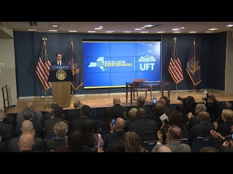 Governor Cuomo Signs Legislation to Protect the Rights of New York's Working Men and Women