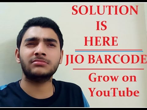 Solution of your Problems  | JIO MULTIPLE BARCODES without  Root & No Imei change| GROW ON YOUTUBE