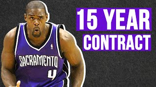 Chris Webber Once Had A 15 YEAR CONTRACT!!