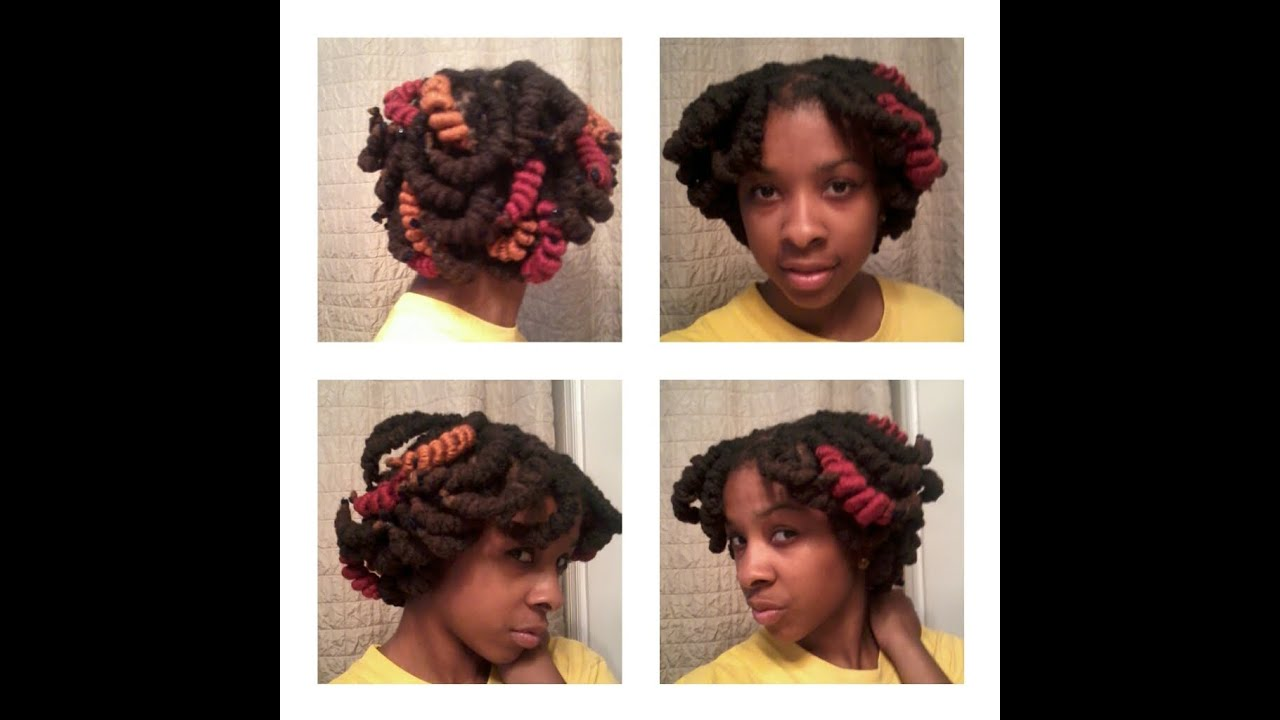 Pipe Cleaners In Thick Locs Youtube