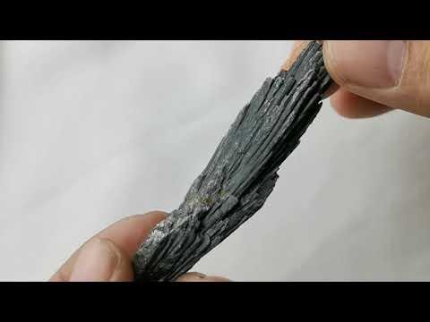 黑色藍晶石原礦Kyanite 01[ DCT Collection ]