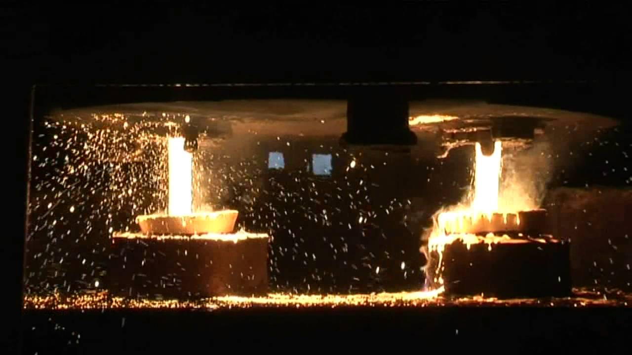The Production Process Of A Steel Casting Youtube