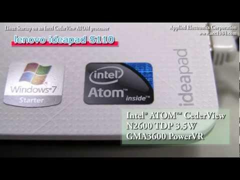Fedora-based Linux runs Full HD Video on Intel N2600 CedarView ATOM processor