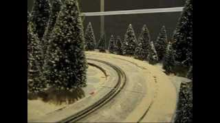 My Winter Slot Car Test Track- New Layout!