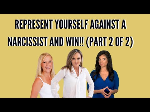 REPRESENT YOURSELF AGAINST A NARCISSIST  ONE MOM'S BATTLE WITH TINA SWITHIN AND DR  RAMANI PART 2