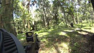 Airsoft War - DV8 - Part 10: Ep. 2: Operation: Black Lightning