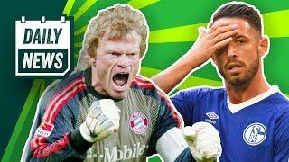Schalke ohne Uth und Harit! Kahn zum FC Bayern! Roma feuert Trainer! Neuer Vertrag für Tuchel?