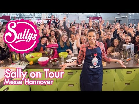Messe Infa  Hannover/ Cakeworld  / Sally on Tour / Sallys Welt