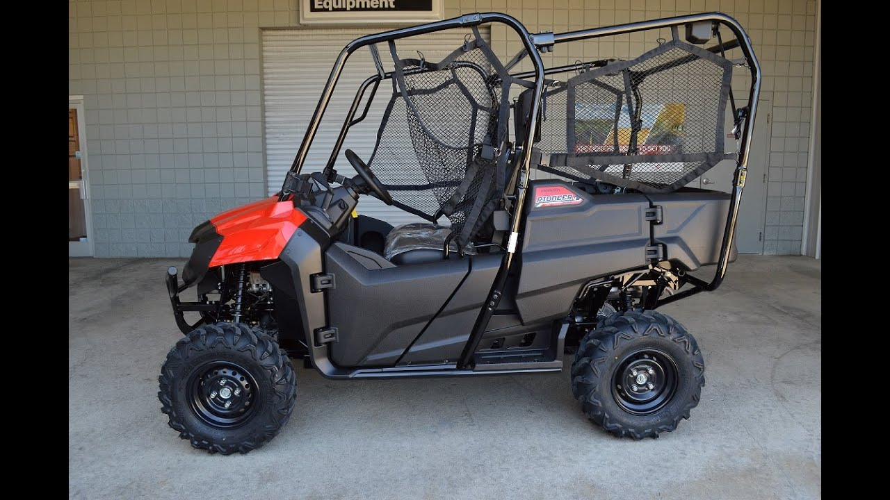2015 honda pioneer 700 4 seater side by side sxs utv. Black Bedroom Furniture Sets. Home Design Ideas