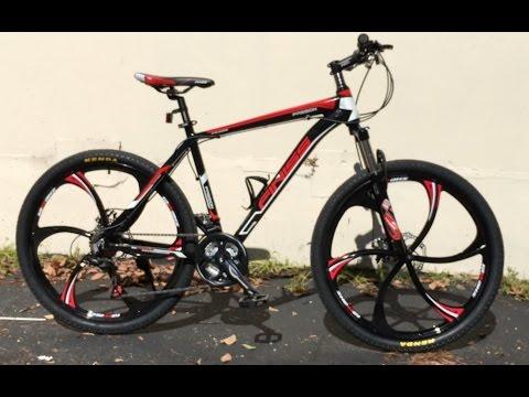 Merax Finiss Hybrid Road Mountain Bike Components & Looks