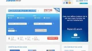 Cum se face o rezervare si se cumpara bilet de avion ieftin online pe www.zbor.md