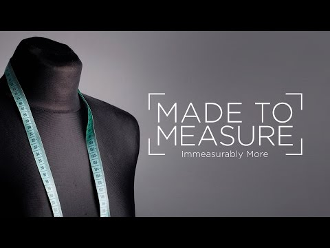 Made to Measure // Week 1 - Paul Reid