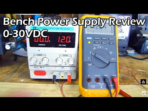Bench Power Supply Full Review (variable 0-30V & 0-10A)
