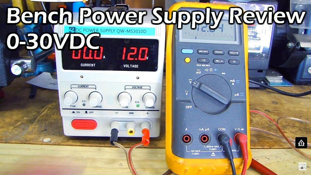 Bench Power Supply Full Review (variable 0-30V & 0-10A) - YouTube