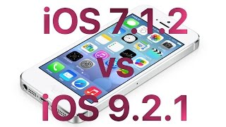 iPhone 4S iOS 9.2.1 vs iOS 7.1.2 Speed Test(, 2016-01-23T14:18:53.000Z)