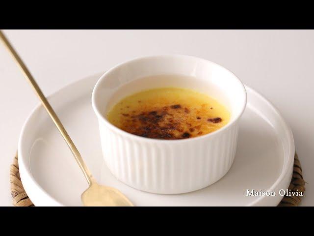 크렘 브륄레. 차가운 크림과 부서지는 카라멜 (Crème Brûlée, Creme Brulee)