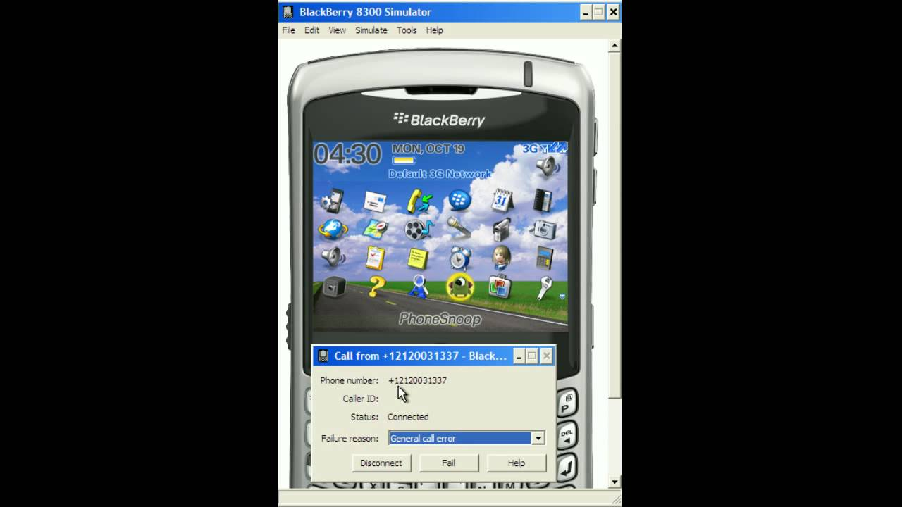 phonesnoop blackberry bugging application youtube
