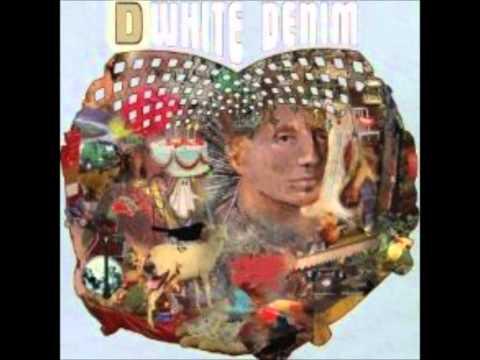 White denim burnished