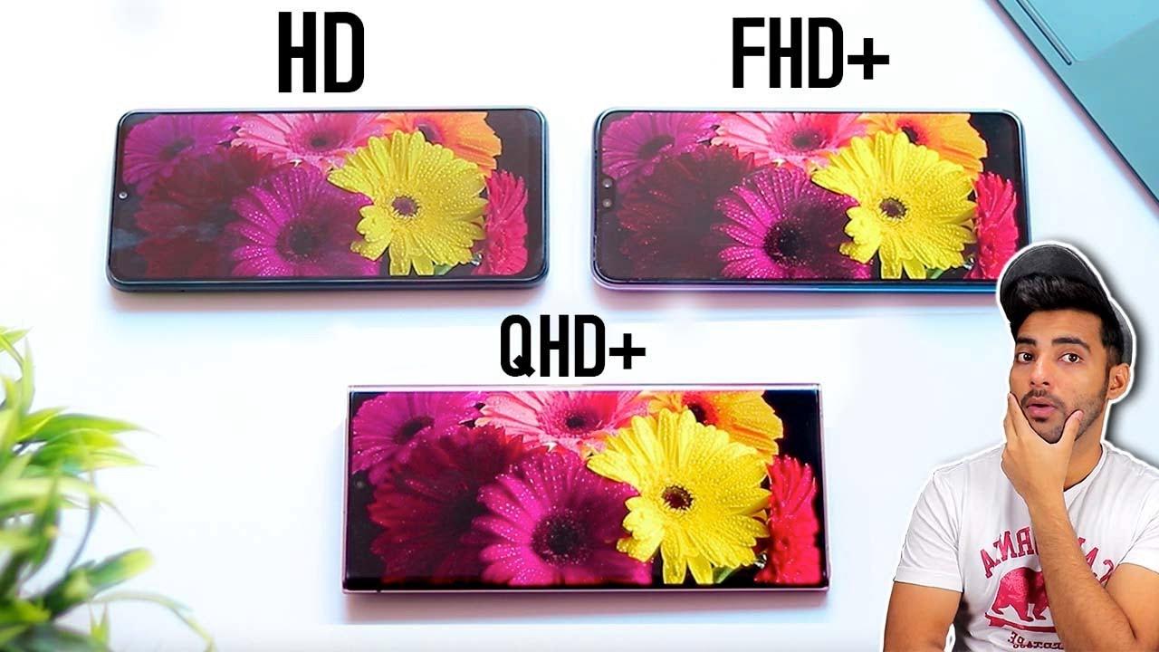 HD vs FHD+ vs 2K vs 4k Display Real difference ?