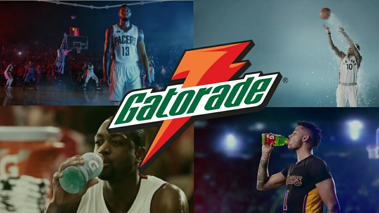 NBA Gatorade Commercial 2017 Compilation - YouTube
