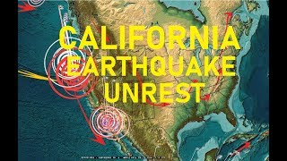7/29/2018 -- West Coast USA -- California and Oregon Noteworthy Earthquake INCREASE