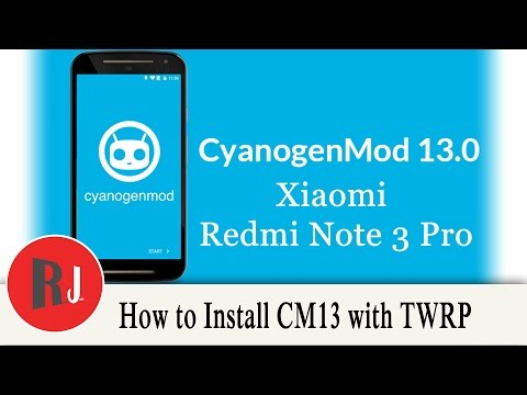 How to install CyanogenMod 13 on the Redmi Note 3 Pro