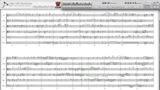 """J.S.Bach : Ricercare a 6 from """"Musikalisches Opfer"""" BWV1079 (DTM)"""