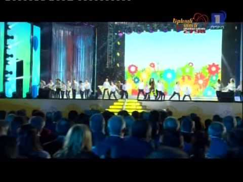 JESC 2014 Armenia - Betty - People of the Sun (live at Erebuni-Yerevan 2796)