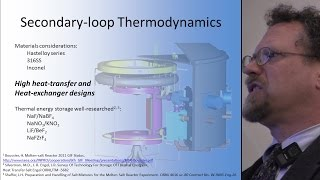 Dr. Stephen Boyd - High-Temperature Chemistry with Molten Salt Reactors