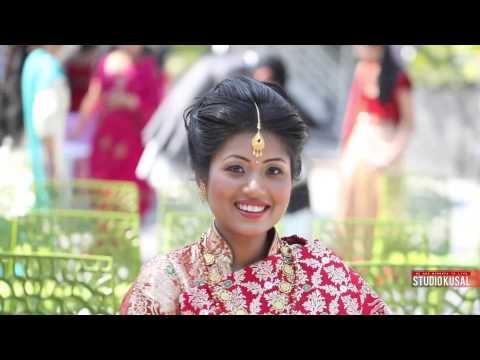 Nepali Cinematic wedding video of Roslina and Prajwol