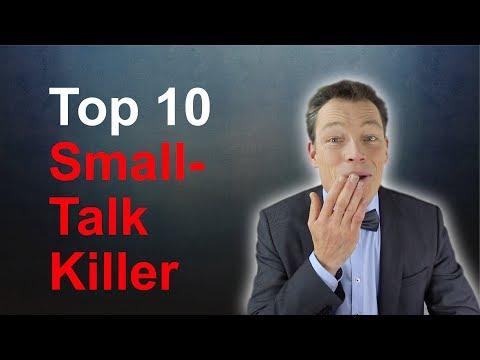 Smalltalk-Killer Top 10, Was Gespräche vermasselt, Tipps, Tricks (Smalltalk lernen) // M. Wehrle