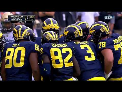 Colorado Buffaloes vs Michigan Wolverines football 2016