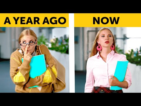TYPES OF BACK TO SCHOOL STUDENTS || Relatable сomedy by 5-Minute FUN