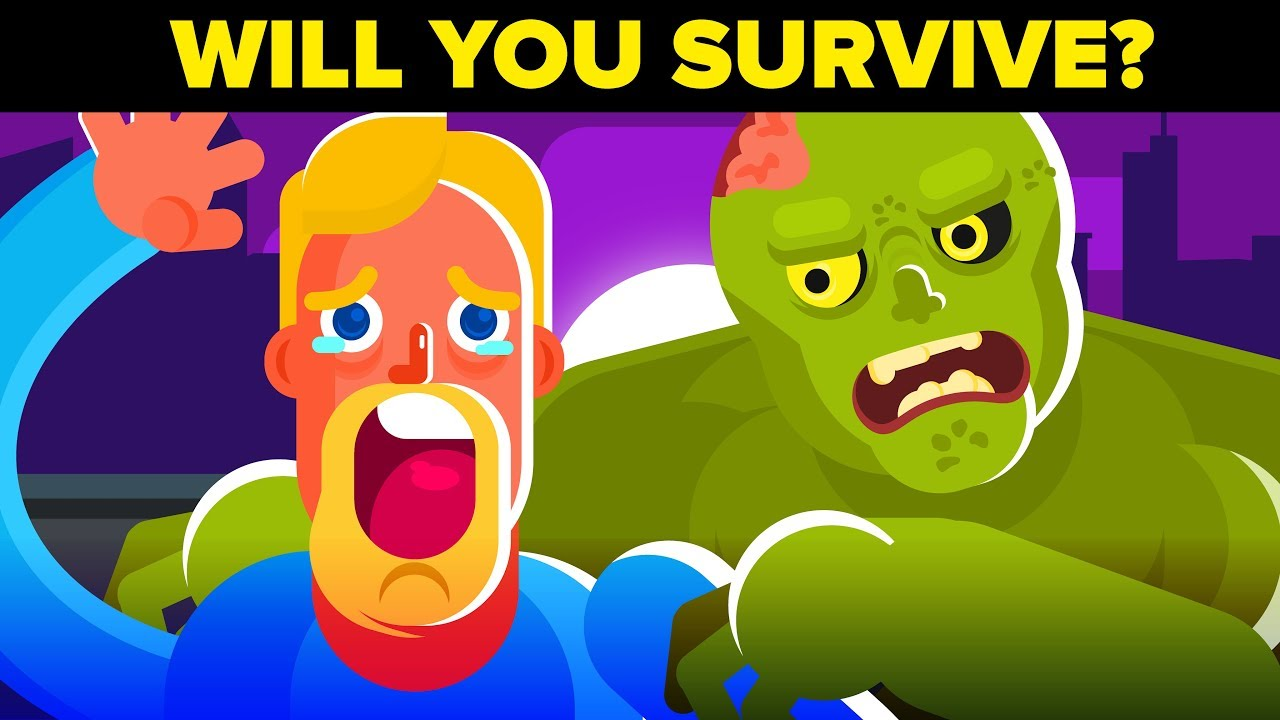 SURVIVE THE 2019 ZOMBIE APOCALYPSE CHALLENGE