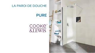 Paroi de douche latérale Pure COOKE & LEWIS - Castorama