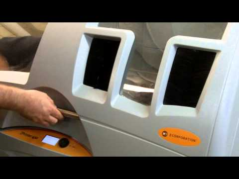 Z Corp Printer Training video 1