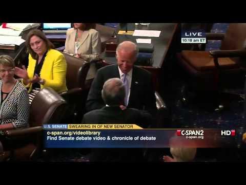 Ed Markey Sworn into U.S. Senate
